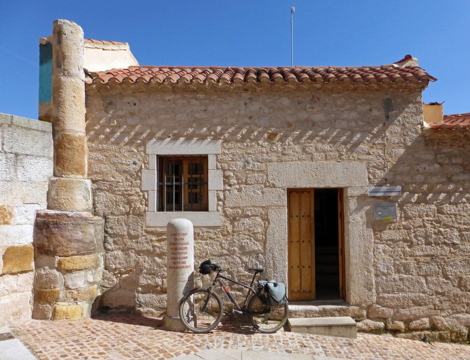 Más peregrinos en el alberque de Zamora en 2014