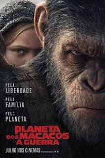Baixar Planeta dos Macacos A Guerra Dublado 2017