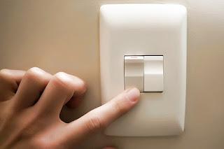 Encender la luz con interruptor