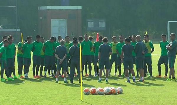 Lawan Persija, Luis Milla ingin Timnas U-22 Bermain Konsisten Sejak Awal