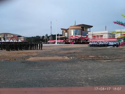 IMG 20170817 180701 - Ada yang berbeda  upacara HUT RI yang Ke – 72 tahun di Kota Tarakan.