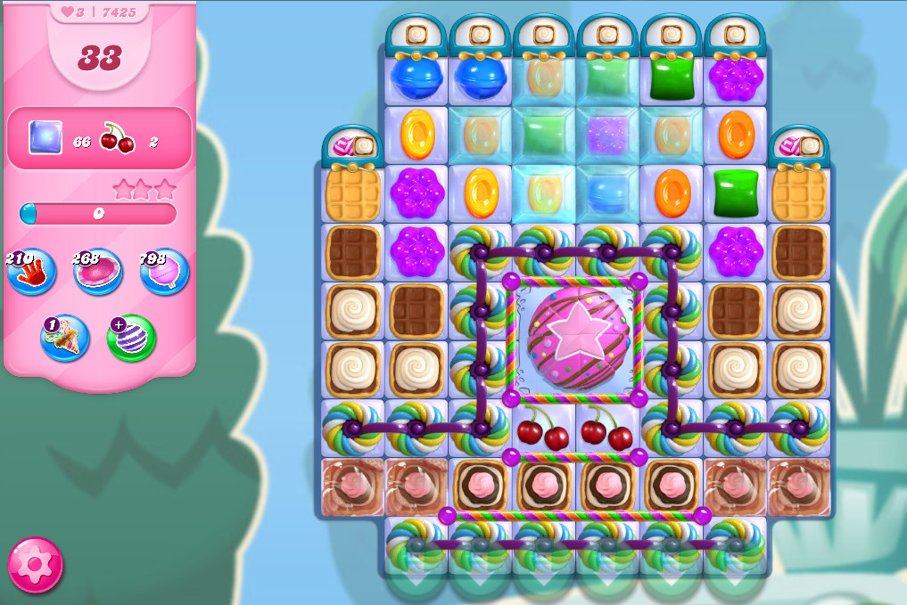 Candy Crush Saga level 7425