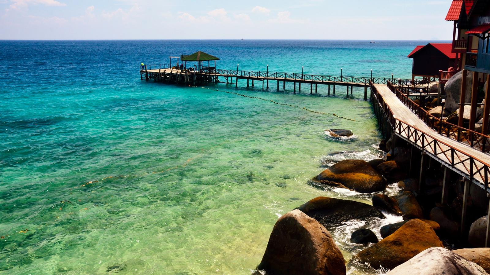 Percutian yang best di Berjaya Tioman Resort