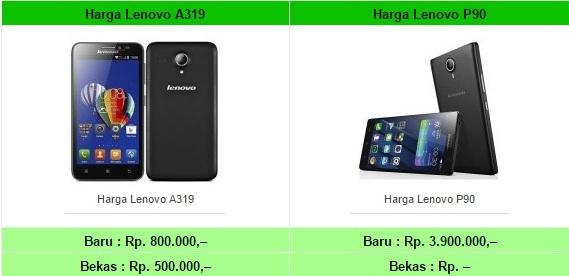 Daftar Harga HP Lenovo Tahun 2017 Terbaru Semua Type