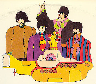 Yellow Submarine rock devils horn