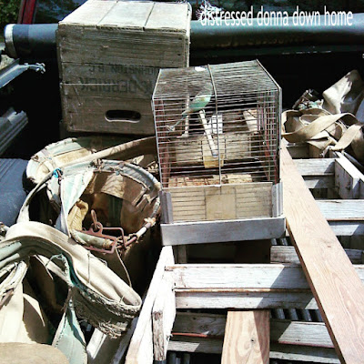 orchard ladder, picking bags, famr sale, estate sale, Johnston SC, Derrick Farms