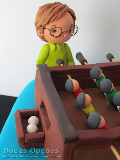 table football cake