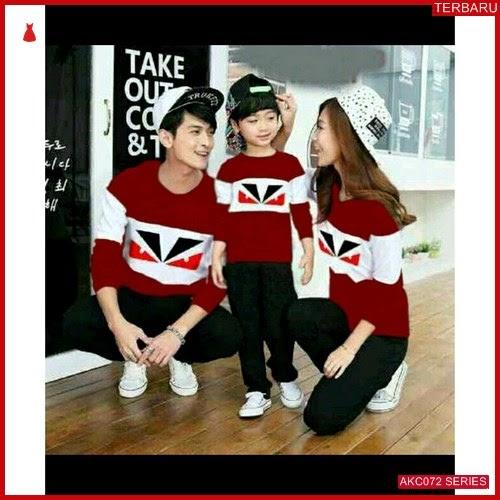 AKC072S155 Sweater Couple Fendi Anak 072S155 Keluarga Eyes BMGShop