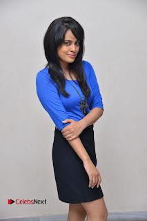 Actress Nandita Swetha Stills in Black Mini Skirt at Ekkadiki Potavu Chinnavada Movie Special Show  0036.JPG