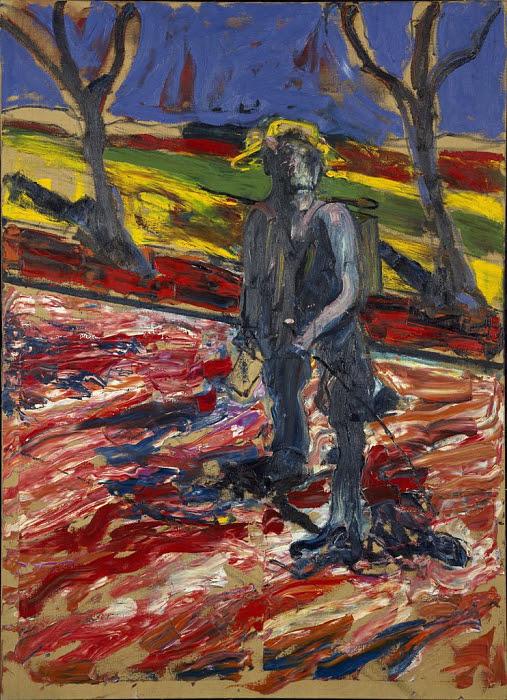 フランシス・ベーコンのヴァン・ゴッホの肖像のための習作Ⅲ