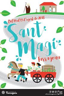 cartell programa actes sant magí 2018 tarragona