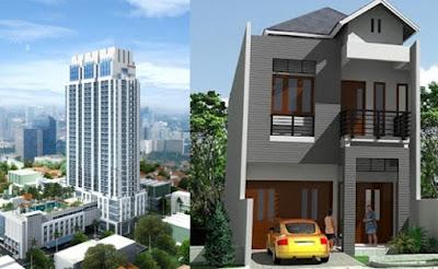 rumah vs apartemen