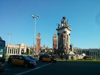 barcelona plaza de españa