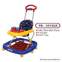 Baby Walker Family FB3312LD ABC Melodies Music