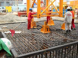 Chân cẩu tháp Zoomlion TC7030B-12 chính hãng tại Hà Nội