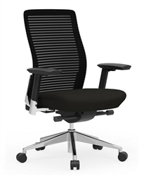 Black Eon Task Chair