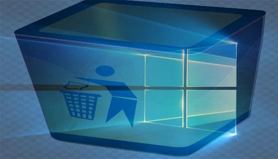 حل مشكل تعطل سلة المحذوفات في Windows 10