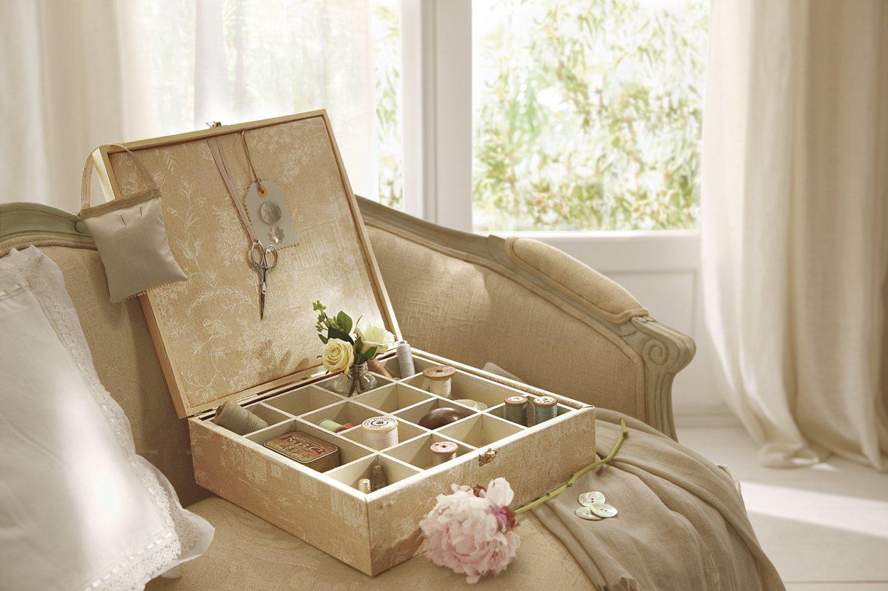Art stica integral peumayen tu caja costurera en orden - Como adornar una pared ...