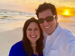 Sarah Huckabee Sanders with husband