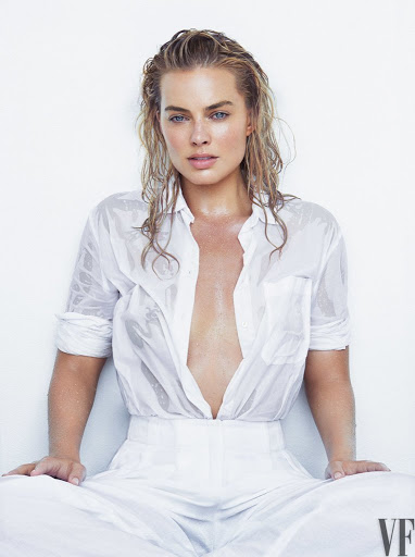 Margot Robbie sexy models photo shoot for Vanity Fair Magazine