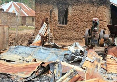 destroyed by herdsmen