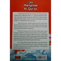 Buku Anak Kisah Jin Menyimak Al Quran