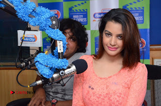 Deeksha Panth Banthipoola Janaki Team Pictures at Radio City 91.1 FM  0068