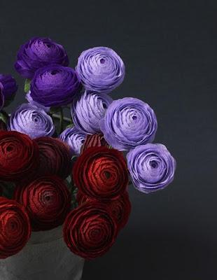 paper flowers, diy paper flowers, spring flowers, crepe paper, diy home decor, diy projects, do it yourself projects, diy, diy crafts, diy craft ideas, diy home, diy decor