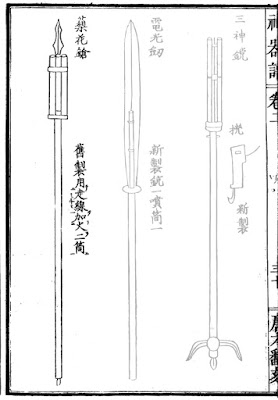 Chinese Fire Spear
