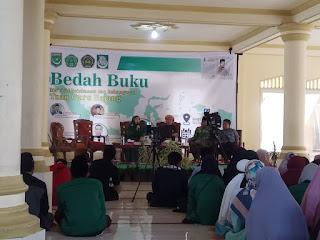 Bedah Buku Ma'rifat Keislaman dan Kebangsaan TGB dibuka Langsung Oleh Dr. Hj. Siti Rohmi Djalilah