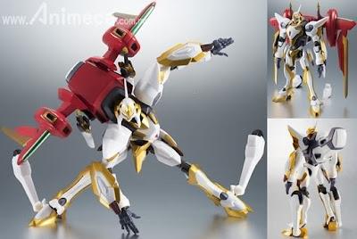 Figura Lancelot Air Cavalry ROBOT SPIRITS SIDE KMF Code Geass Lelouch of the Rebellion