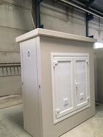 armarios u hornacinas electricas de hormigón