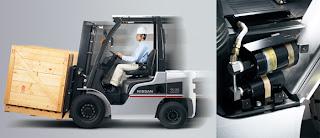 Xe nâng Nissan 3 tấn
