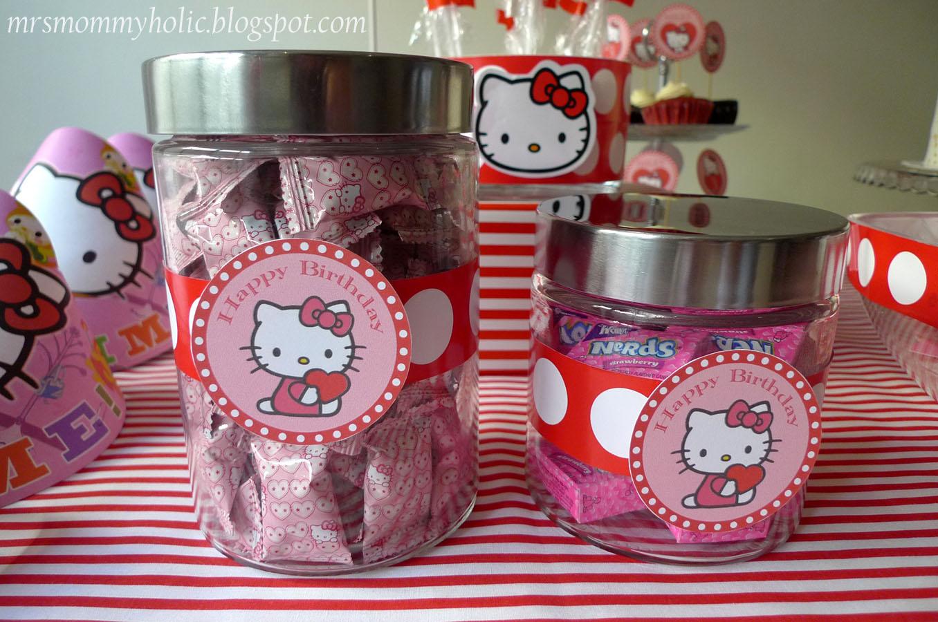Mrsmommyholic A Hello Kitty Valentine Birthday Party