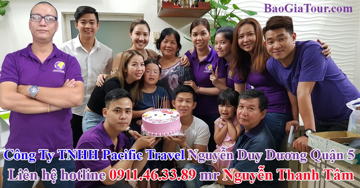 Công Ty TNHH Pacific Travel Nguyễn Duy Dương Quận 5