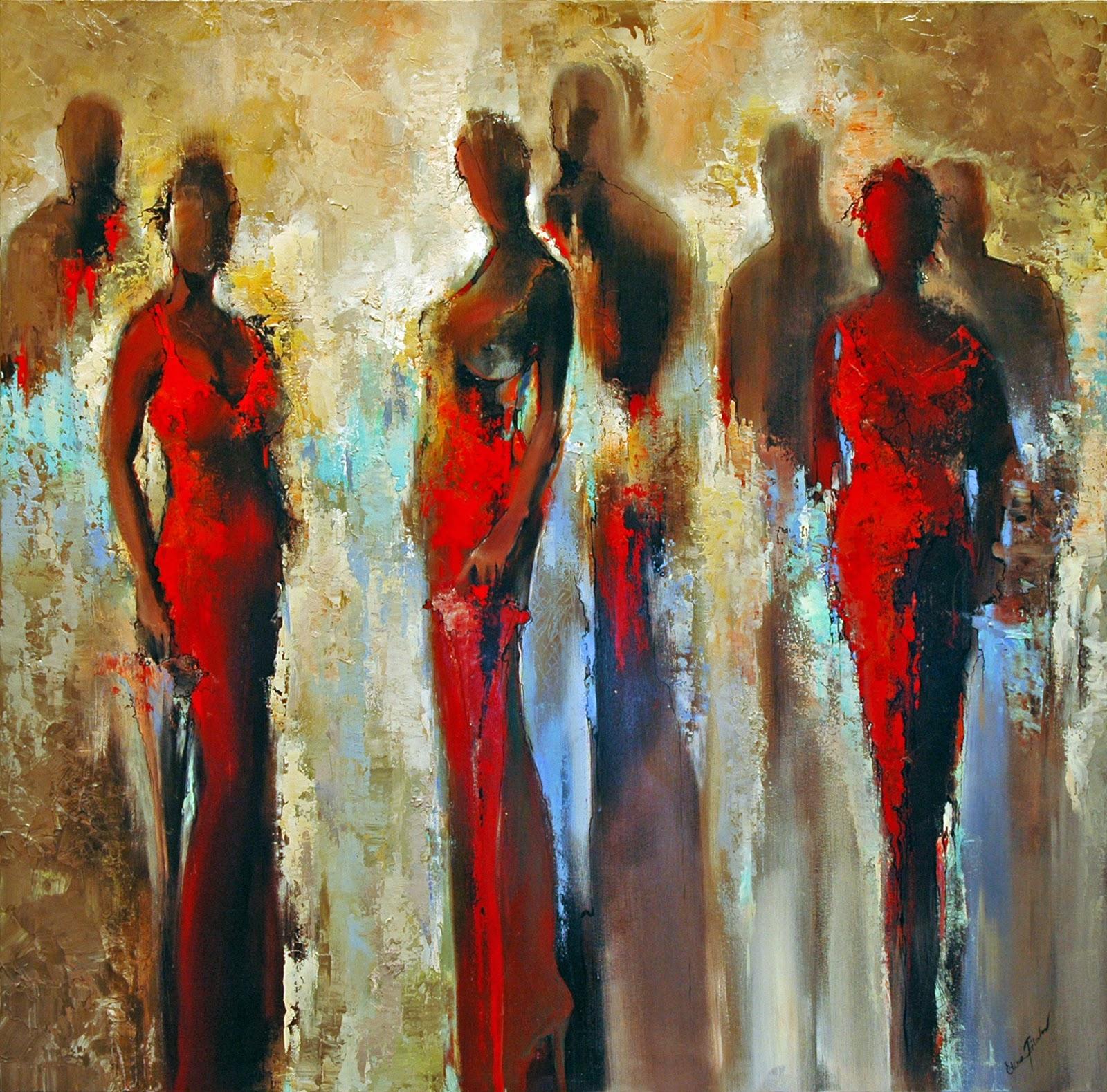 Elena Filatov Red Dresses