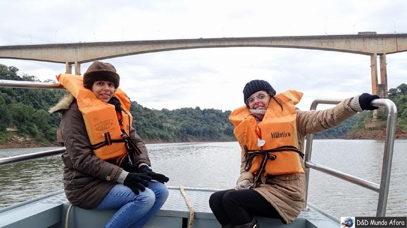 O que fazer em Foz do Iguaçu - Passeio Encontro das Águas