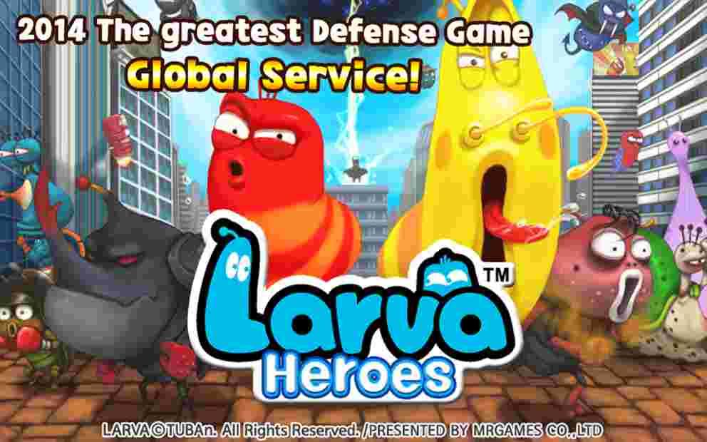 Tải game Larva Heroes 2 chú sâu tinh nghịch