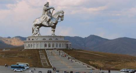 Replika Makam Jenghis Khan - Makam asli masih nbelum ditemukan