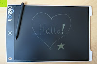 geschrieben: DIGISON DS-9500 LCD 12 Zoll Writing Tablet / Grafiktablet / Schreibtafel (Schwarz, inkl. Stift)