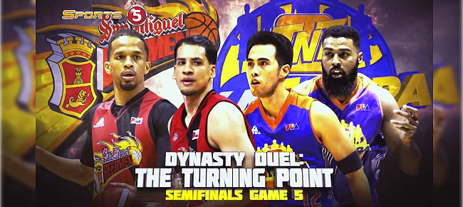 HIGHLIGHTS: TNT vs. San Miguel (VIDEO) February 16 / Semis Game 5