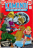 Kamandi v1 #2 dc 1970s bronze age comic book cover art by Jack Kirby