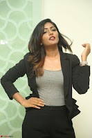 Actress Eesha Looks gorgeous in Blazer and T Shirt at Ami Tumi success meet ~  Exclusive 171.JPG