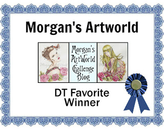 Nancy's DT Favorite Winner - Morgan's ArtWorld Challenge # 1