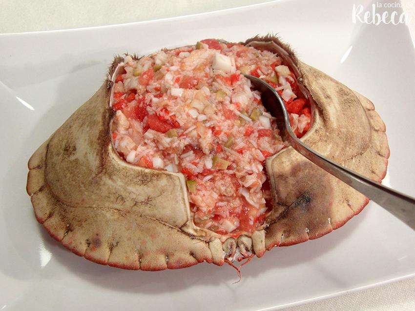 La Cocina De Rebeca Buey De Mar Relleno Y Cómo Cocerlo Y