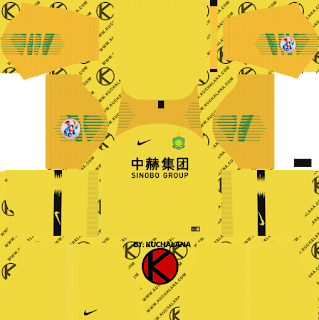 Beijing Guoan FC 2019 ACL Kit - Dream League Soccer Kits