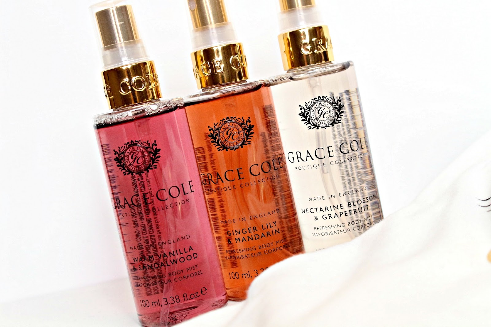 Grace Cole Boutique Collection body mist