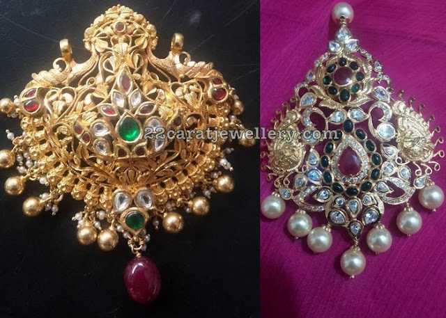 Latest Kundan Pendant Sets