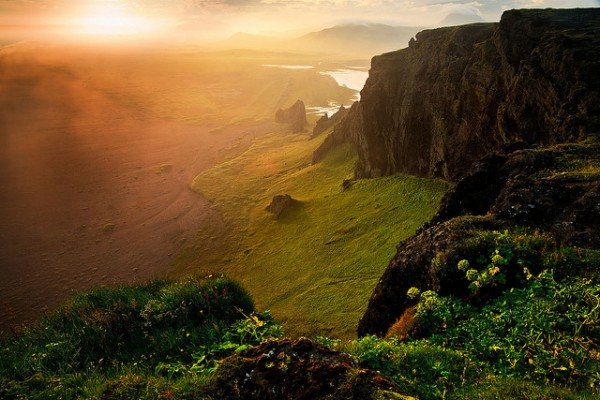 Iceland - Vik: Warm Fog by John & Tina Reid