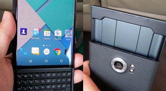 Penampkan Detail BlackBerry Android